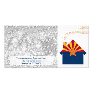 new arizona address personalized photo card