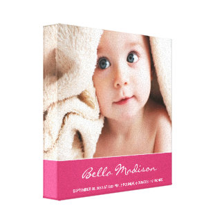 NEW ARRIVAL | BABY CANVAS PORTRAIT
