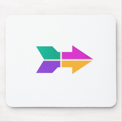 New ARROW : Direction Compass Attitude LOWPRICE Mousepads