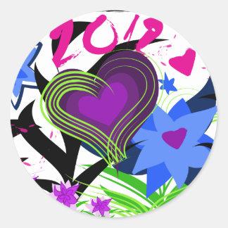new-art-20121.ai classic round sticker
