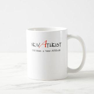 New Atheist old ideas new attitude Classic White Coffee Mug