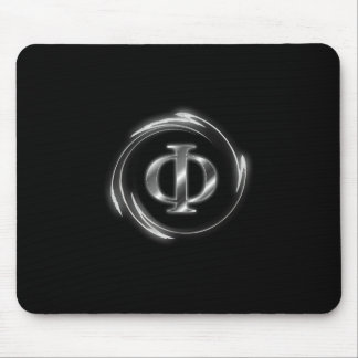 New Atheist Phi symbol Mouse Pad