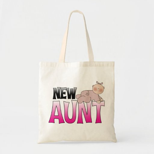 New Aunt Gift Canvas Bag