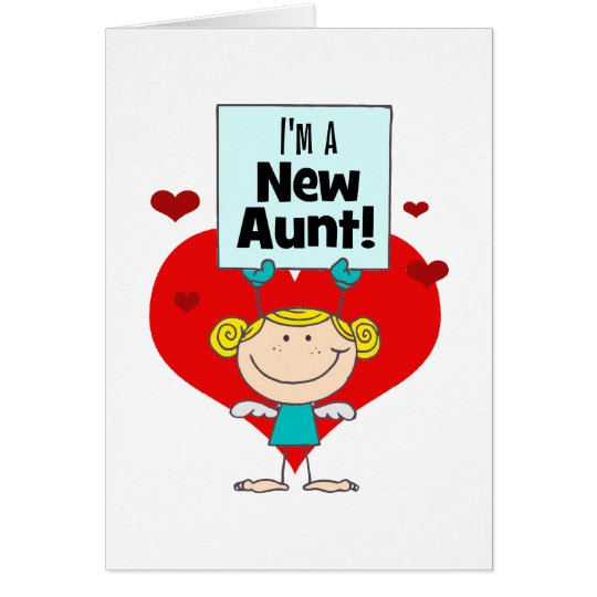 New Aunt Gift Card