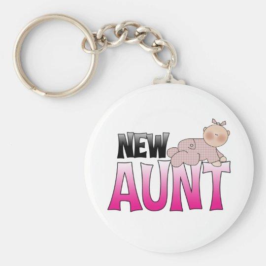 New Aunt Gift Keychain