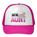 New Aunt Gift Mesh Hats