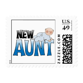 New Aunt Gift Postage Stamps