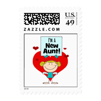 New Aunt Gift Stamp