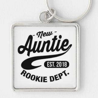New Auntie 2018 Keychain