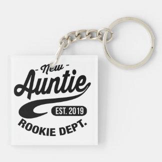 New Auntie 2019 Keychain