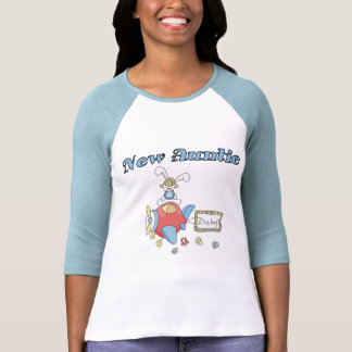 New Auntie - Airplane Tshirts and Gifts