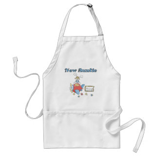 New Auntie - Airplane Tshirts and Gifts Apron