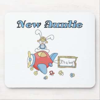 New Auntie of Baby Boy Mouse Mats