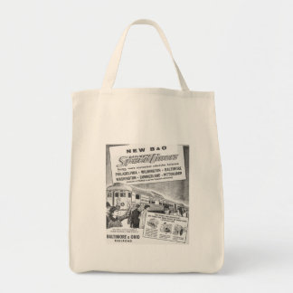 New B&O Budd Built Daylight Speedliners Tote Bag