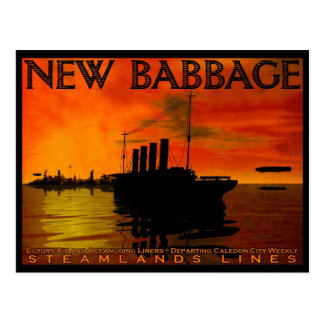 New Babbage Postcard No. 3