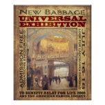 New Babbage Universal Exhibition Posters