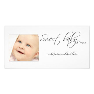 New Baby Announcments Photocards Card