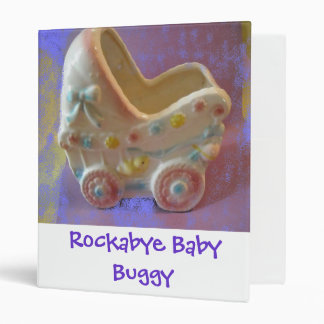 New Baby/Baby Shower 3 Ring Binder