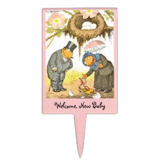 New Baby  Bird Cake Topper
