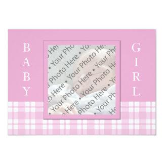 New Baby Birth Announcement - Girl