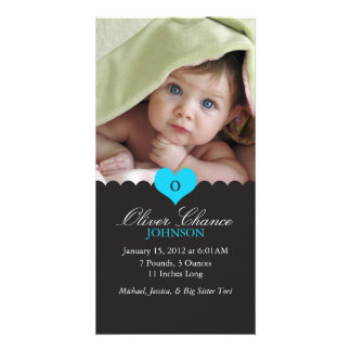 New Baby Birth Announcement Photo Cards