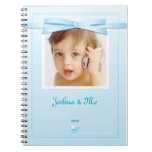 New baby Boy Blue Ribbon Notebook