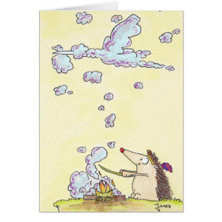 NEW BABY BOY greeting card by Nicole Janes
