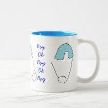 New baby boy mug