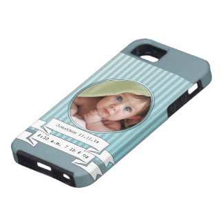 New Baby Boy Photo iPhone Case For Mom or Grandma iPhone 5 Cases