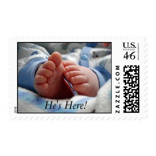 New Baby Boy Postage