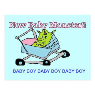 New Baby Boy Postcard