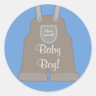 New Baby Boy Sticker