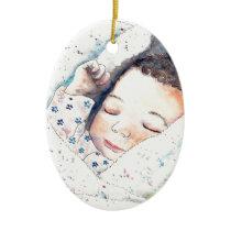 new baby ceramic ornament