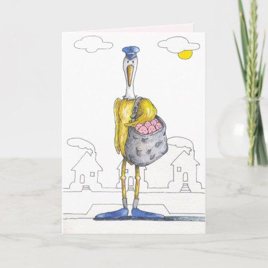 new baby congratulation card