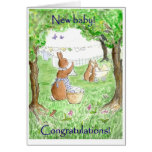 New Baby Congratulations Greeting Cards