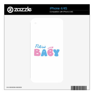 New Baby Decal For The iPhone 4S