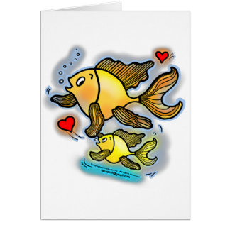 New Baby Fish Card
