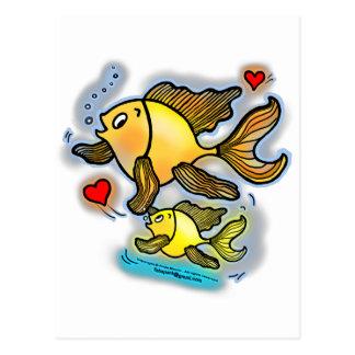 New Baby Fish Postcard