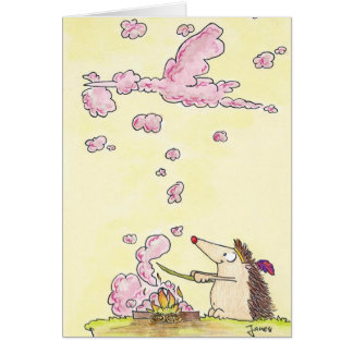 NEW BABY GIRL greeting card by Nicole Janes