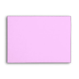 New Baby Girl Pretty Pink Custom Envelopes