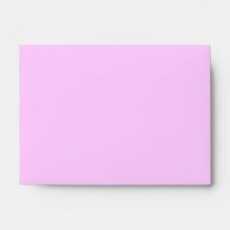 New Baby Girl. Pretty Pink. Custom Envelope