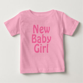 New Baby Girl. Pretty Pink. Custom Shirt
