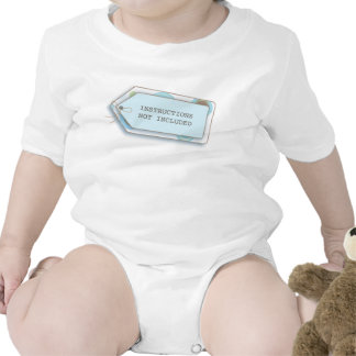 New Baby Instructions Not Included Funny Shirt