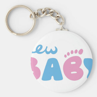 New Baby Keychain