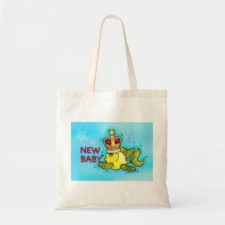 New Baby lucky goldfish wearing crown Bag