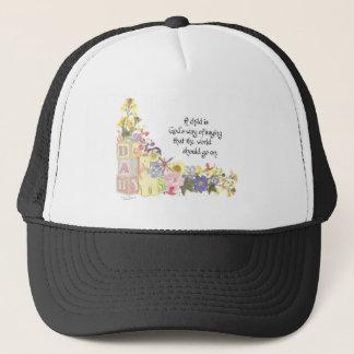 new baby, new parents trucker hat