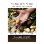 New Baby Nugget Potatoes Large Business Cards (Pack Of 100)