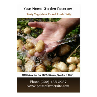 New Baby Nugget Potatoes Large Business Card