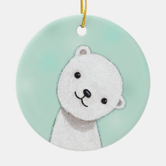 New Baby Ornament Custom Personalized Ornament