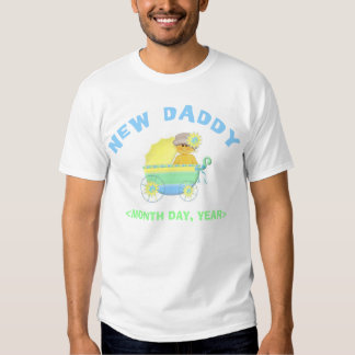 New Baby Personalized New Daddy T-Shirt